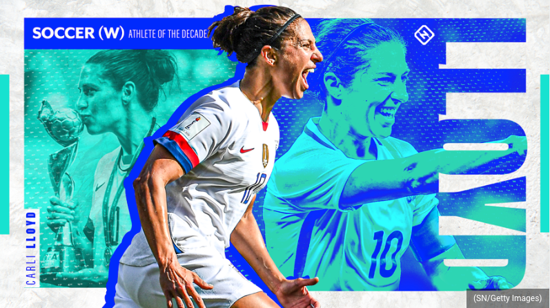 Sporting News: Sporting News women's soccer Athlete of the Decade