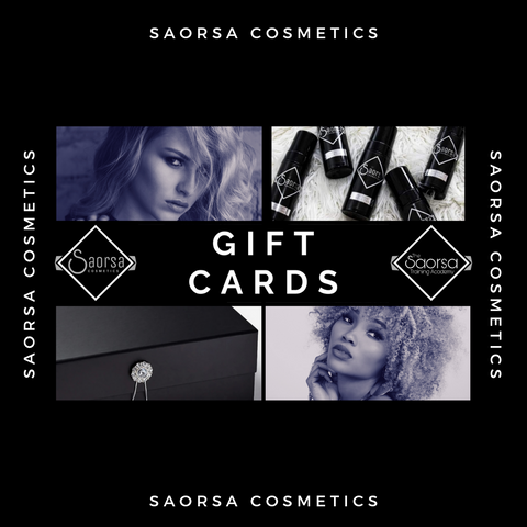 Virtual Gift Cards - Saorsa Cosmetics