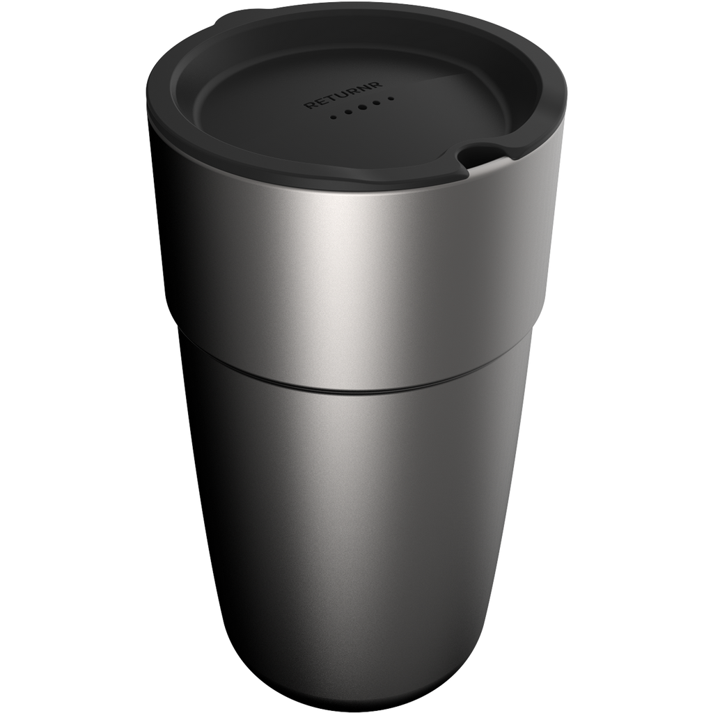 Returnr Cup - 16oz (w/ Black Lid)