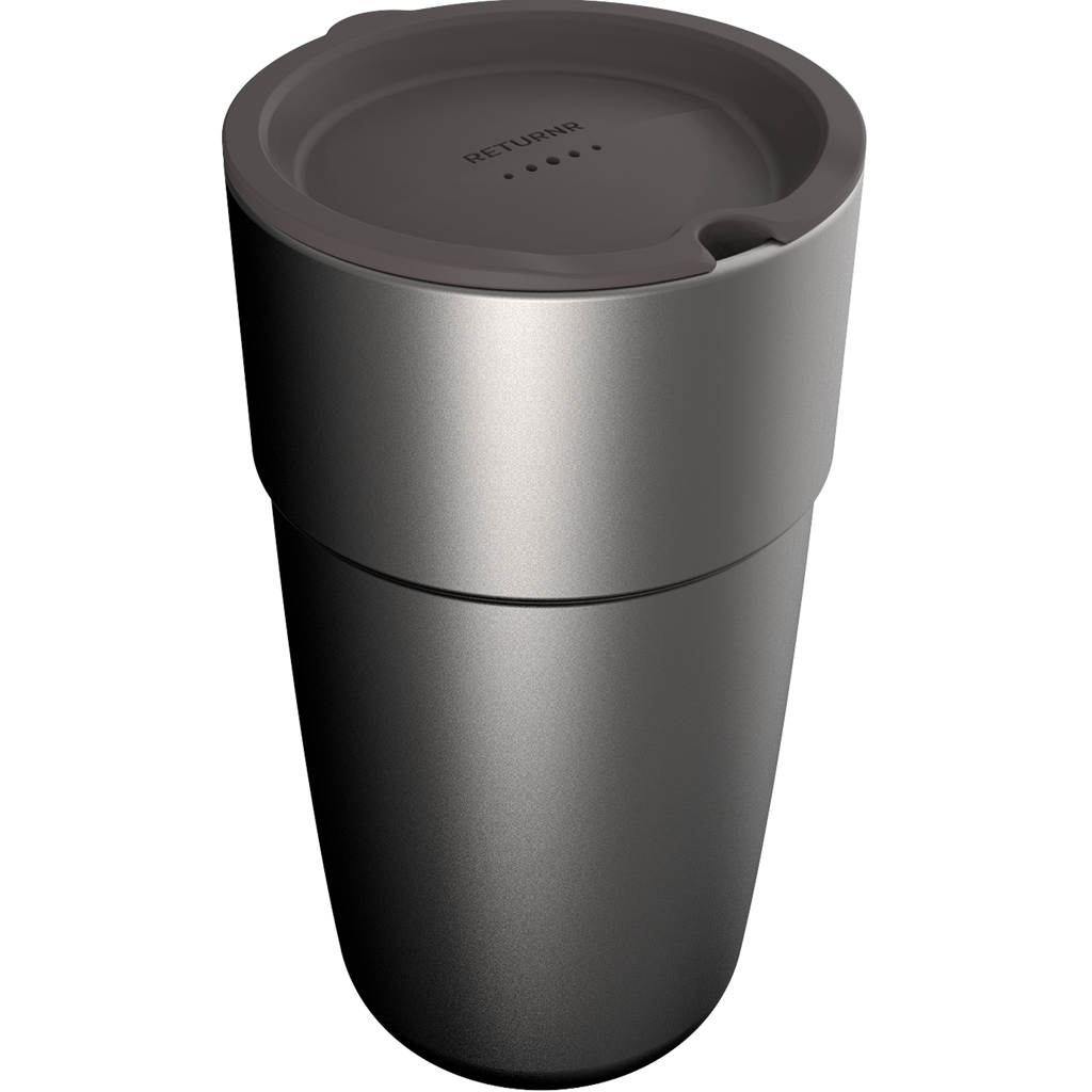 Returnr Cup - 16oz (w/ Warm Grey Lid)