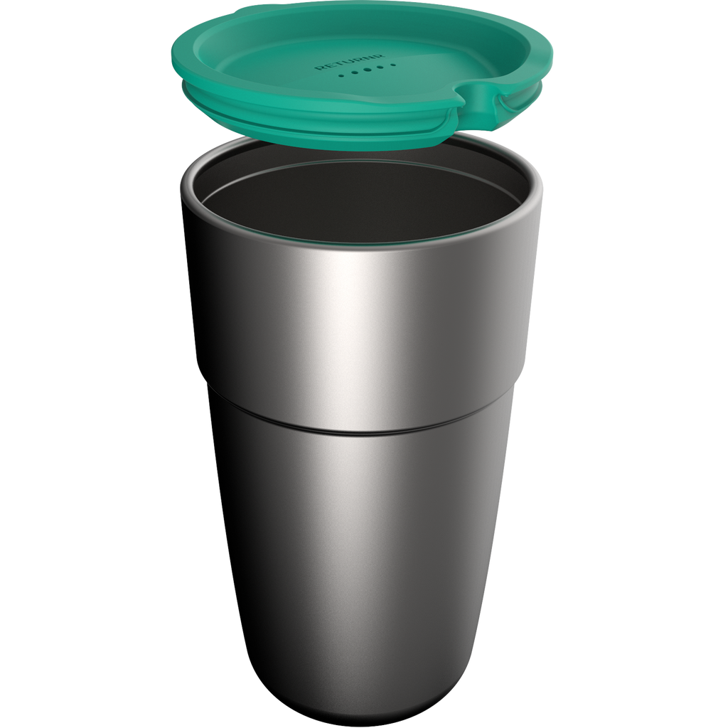 Returnr Cup - 16oz (w/ Green Lid)