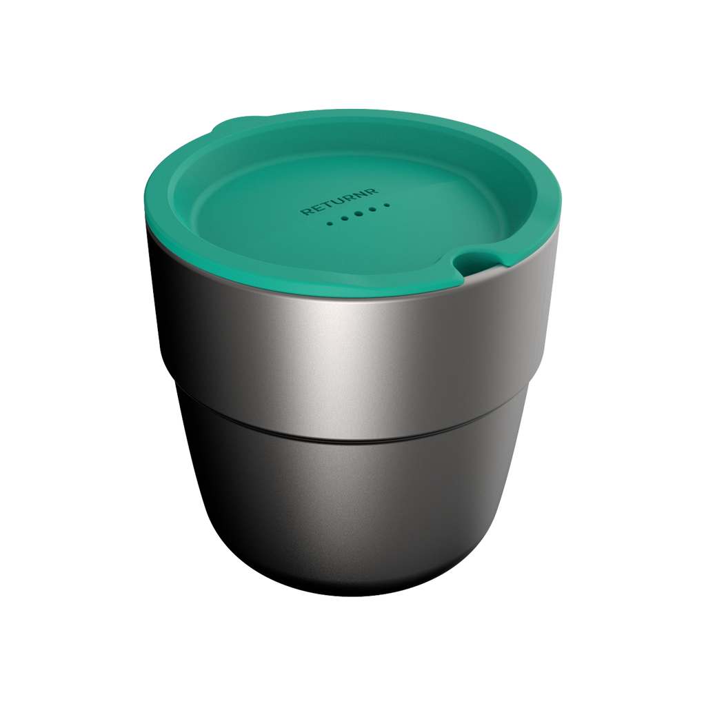 Returnr Cup - 8oz (w/ Green Lid)