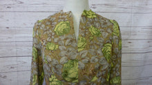 Load image into Gallery viewer, 70s Green Silk Maxi