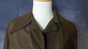 1970s Brown Blouse