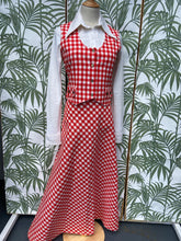 Load image into Gallery viewer, 70s Gingham 3 Piece