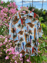 Load image into Gallery viewer, Palm Tree Surf Shirt large