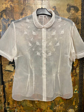 Load image into Gallery viewer, Pearl Pink Deco Blouse size 12