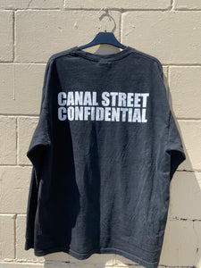 Canal Street Confidential Long Sleeve Tee size L