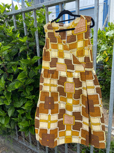 Driessa 70s Dress
