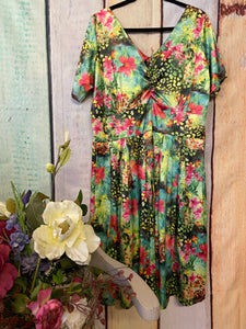 Vintage Addiction Floral Dress size 20