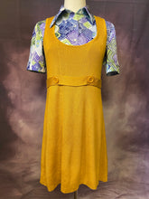Load image into Gallery viewer, Mustard Knit Tunic Dress