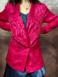 The Hottest Pink Blazer size 8-10