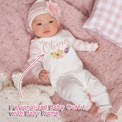 Personalized Baby Girl Clothes III-01