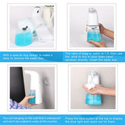 Soap Foaming Dispensers | Touchless Electric ABS Infrared Motion Sensor Soap Dispenser - Miss Comfy