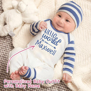 Personalized Baby Boy Clothes Onesie III-06