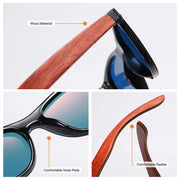 Sunglasses Polarized  Bamboo Wood Mirror Lens Sun Glasses Men Women Colorful Shades Handmade - Miss Comfy