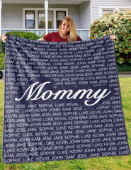 Personalized Family Blanket
