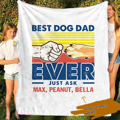 Personalized Pets Blanket 01