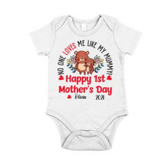 Personalized Baby Outfit For Mother's Day - Bears1