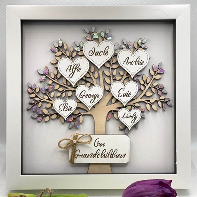 Personalized Family Name Tree 05