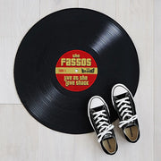 Personalized Record Doormat