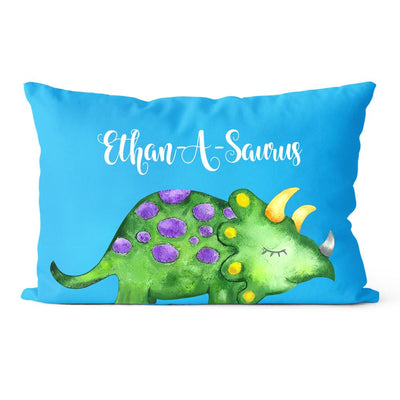 Personalize Name Cushion Dinosaur 07
