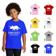 Personalized Kids Dinosaur T-Shirt 03