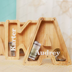 Personalized Kids Name Piggy Bank