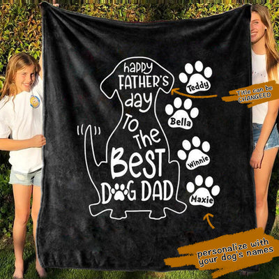 Personalized Pets Blanket 04