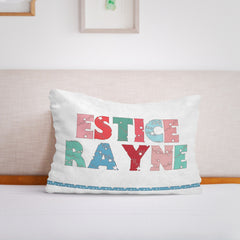 Personalized Baby Name Fleece Pillow05