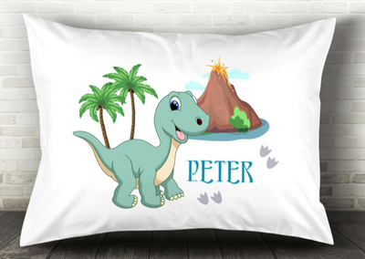 Personalize Name Dinosaur Pillow 06