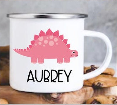 Personalized Cartoon Dinosaur Mug I18