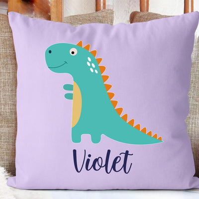 Personalize Name Cushion Dinosaur 05