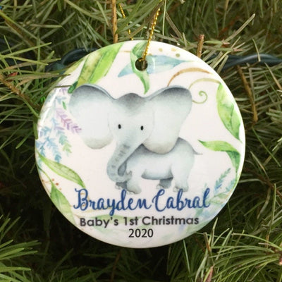 Baby's first Christmas Ornament 01