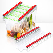 Food Bag Hanging Storage Rack - White