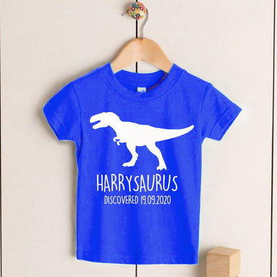 Personalized Kids Dinosaur T-Shirt 01