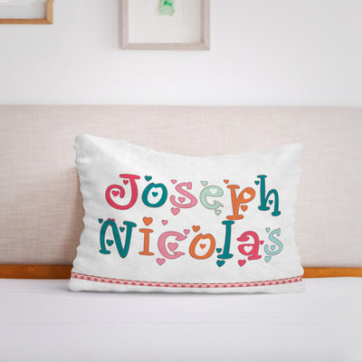 Personalized Baby Name Fleece Pillow13