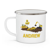 Personalized Truck Mug08- Yellow