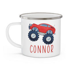 Personalized  Monster Truck Mug12- Red