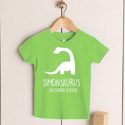 Personalized Kids Dinosaur T-Shirt 02
