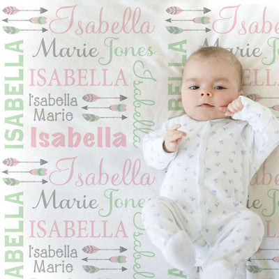 Baby Swaddle Fleece Blanket VIII 07