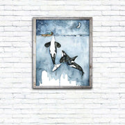 Watercolor Canvas Painting 10