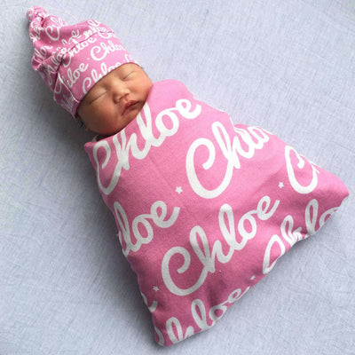 Baby Swaddle Fleece Blanket-Organic