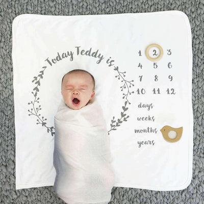 Baby Swaddle Fleece Blanket VIII 02