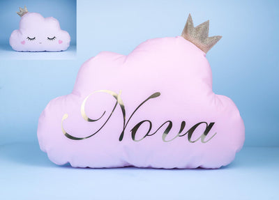 Personalized Cloud pillow