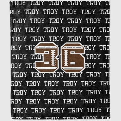 Personalized Sports Blanket I03