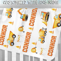 Custom Name Fleece Blanket 09