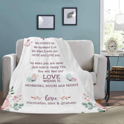 Personalized Family Name Blanket-For Grandma 03