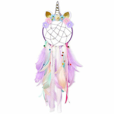 Unicorn Dream Catcher Catchers with LED Light 02
