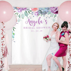 Custom Bridal Shower Backdrop 14